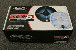 "WET SOUNDS REVO6-XWB 6.5"" MARINE AUDIO COAXIAL SPEAKERS XW GRILLES BOAT COAX"