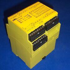 PILZ E-STOP RELAY & SAFETY GATE MONITOR PNOZ X9P 24VDC 7n/o 2n/c 2so
