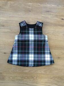 Mackenzie Dress Tartan Handmade Pinafore, Babies, Children