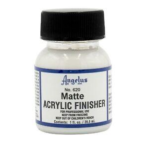 Angelus Brand Acrylic Leather Paint Finisher - Matte - 1oz