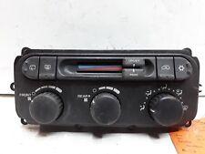 04 05 06 07 Dodge Caravan Chrysler Town & Country 3 Zone heater AC control OEM