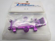 Tamiya GB01, Alloy Front Lower Arm Bulkhead (GPM/Purple). NIP