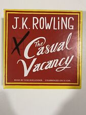 The Casual Vacancy by J K Rowling (CD-Audio, 2013) 15 Cds Audio Book REDUCED
