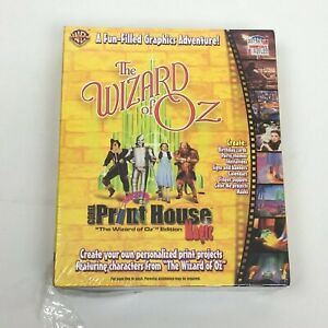 Wizard Of Oz PC CD Create Classic Movie Themed Projects NIB print house