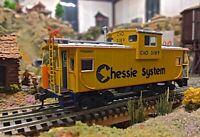 HO ATHEARN 7509 C&O CHESSIE WIDE-VISION CABOOSE ROAD 3189- NIB