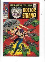 Strange Tales #153 February 1967 Jack Kirby Jim Steranko Doctor Strange SHIELD