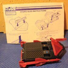 Vintage GI Joe Cobra Hydro Sled with Instructions
