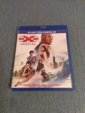 Xxx Return of Xander Cage Blu-ray + Dvd Excellent Condition Vin Diesel