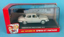 SPIROU & FANTASIO VOITURE Panhard Dyna Z 1954 N°19   1/43  no tintin