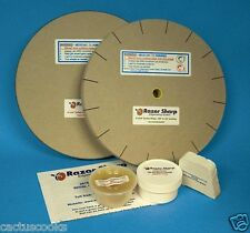 RAZOR SHARP EDGEMAKING SYSTEM SHARPENING WHEELS 8 INCH X 3/4 INCH