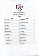 B23 Barnsley v Sheffield United 15/12/17 Under 23 PDL Division 2 North