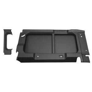 Land Rover Defender Black Rear Side Interior Panels W/O Cutouts DA1644 BA8003