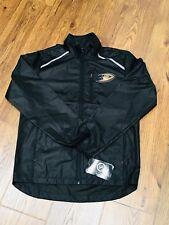 NEW NWT Womens Sz Small Youth Sz Large Anaheim Ducks Track Jacket NHL HOCKEY