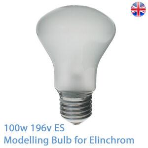 Photolux 100w 196v E27 Modelling Bulb for Elinchrom 23002 Super Leuci Lamp Bulb