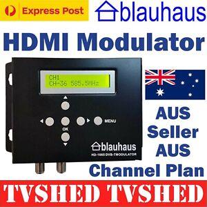 Genuine Blauhaus HDMI DVB-T High Definition Digital Modulator Foxtel Compatible