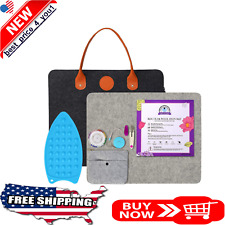 Wool Pressing Mat for Quilting Carrying Case 100% New Zealand  Quilting Supplies