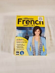 Instant Immersion French Levels 1, 2 & 3 for PC, Mac compare to Rosetta Stone