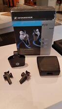 Sennheiser MX W1 In-Ear Wireless Headphones - Silver/Black