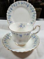 "Royal Albert Memory Lane Trio Cup Saucer and 61/4"" Dessert Plate"