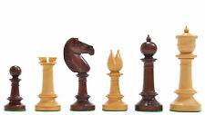 Exclusive Repro Old Edinburgh Upright Chess Pieces in Bud Rose & Box wood D0117