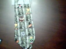 Looney Tunes Mania George Washington Dollar tie with characters