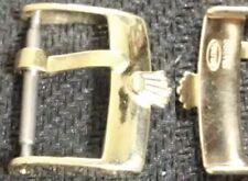 Original Vintage Rolex Buckle Fibbia 18mm inner YGP Excellent ! ! L@@K ! !