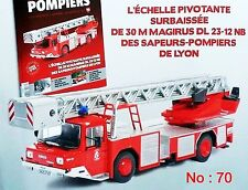 1/43 IXO - CAMION  POMPIERS - IVECO MAGIRUS 120-25 ECHELE SURBAISSEE 1993 01