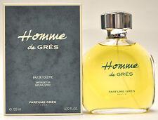 Homme de GRES 4.22oz/125ml Eau de Toilette Spray (New In Box)