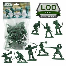 Barzso - Lod Robin Hood Merrymen Outlaws 60Mm 16 Plastic Toy Soldiers