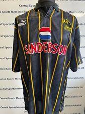 More details for 1993-1994 sheffield wednesday match prepared shirt trevor francis short sleeve