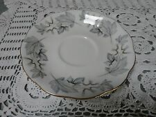 ROYAL ALBERT SILVER MAPLE ORPHAN SAUCER REPLACEMENT