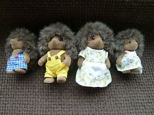 Sylvanian Families THE BRAMBLE HEDGEHOG FAMILY Epoch 1991 BUY BEFORE XMAS PRICES