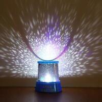 LED Starry Night Sky Galaxy Projector Lamp Star Romantic Light Cosmos W8T7