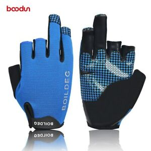 3 Fingers Anti Skid Boating Glove Outdoor Rowing Wear Resistant Fishing Gloves