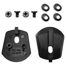 Tacco nero posteriore tacchetto placchetta gomma RC9 RC900 S-PHYRE RC-900 scarpe