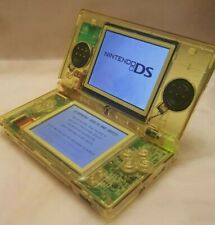 Nintendo DS Lite console New CLEAR YELLOW shell with charger