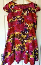 Ladies Cotton/Linen Dress