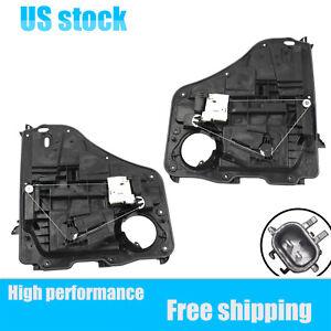 For 07-11 Dodge Nitro Rear Left & Right Power Window Regulator Assembly w/ motor