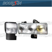 Headlight & Corner Lamp For 95-10 Nissan UD 1800 - 3300 W/Bracket Passenger Side