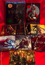 Thor Marvel Rare Collector's Edition Steelbook, Blu-Ray +8 Collectable Art Cards