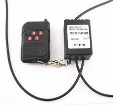 12V Wireless Remote Control Key Module Strobe Flash For Car LED Bulbs LED Strips