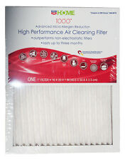 10x Electrostatic Allergen Reduction Air Filter 16x25x1 MPR 1000 by Rite-Aid