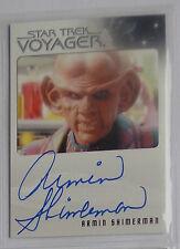 Star Trek Voyager Heroes & Villains Autograph card