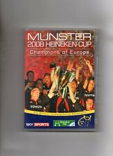 MUNSTER RUGBY DVD - 2008 HEINEKEN CUP - CHAMPIONS OF EUROPE - IRELAND