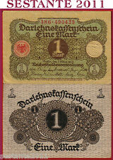 GERMANY GERMANIA    -  1 MARK 1920 -    P 58   -   QFDS / AUNC