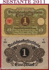 GERMANY GERMANIA    -  1 MARK 1920 -    P 58   -   QFDS / AUNC