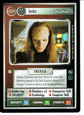 STAR TREK CCG VOYAGER RARE CARD SESKA (Kazon)