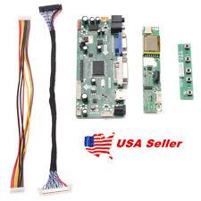 VGA DVI FidgetFidget LCD LED Controller Board Driver kit for LTN156AT30-L01 HDMI
