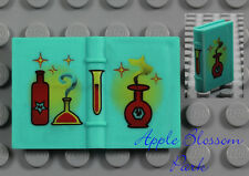 NEW Lego Minifig Turquoise SPELL BOOK - Harry Potter Friends 2x3 Diary 4722 4723