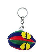 Porte clés clef RUGBY BALLON DRAPEAU Nouvelle Calédonie Calédonien KANAK  FLAG